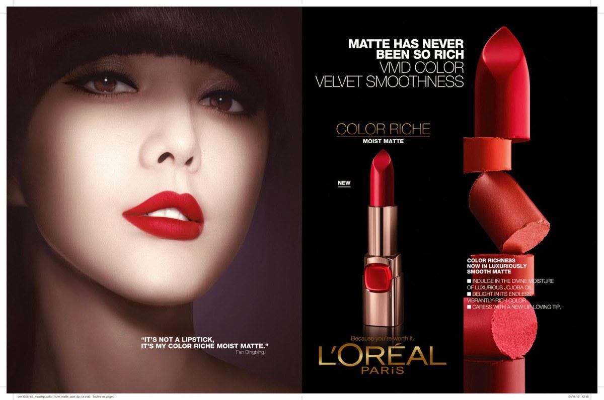 Image result for L'Oréal Color Riche Moist Matte Lipstick